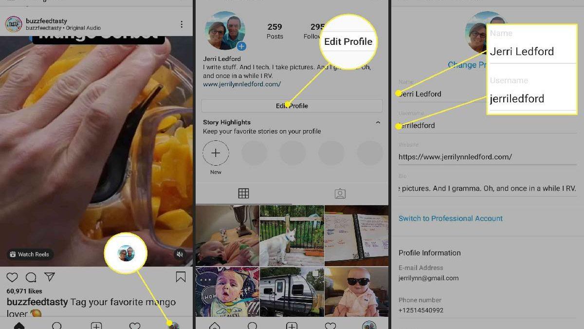 How to Change Instagram Name in Instagram App or Website?