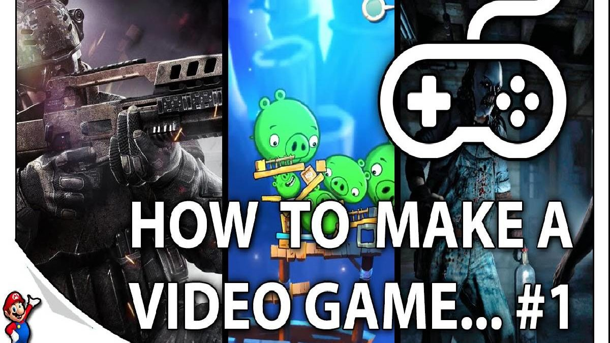 How to Make a Video Game?  – Designing Your Own Video Game and More