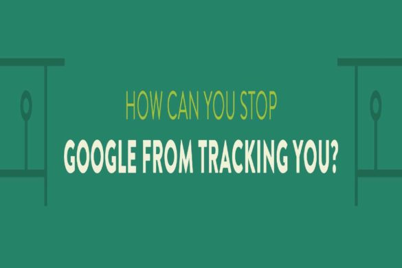 how to stop google from tracking me