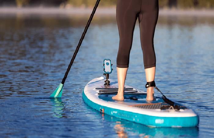 paddleboarding journey