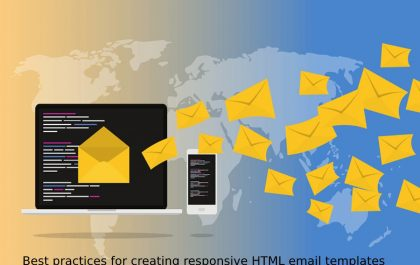 Best practices for creating responsive HTML email templates